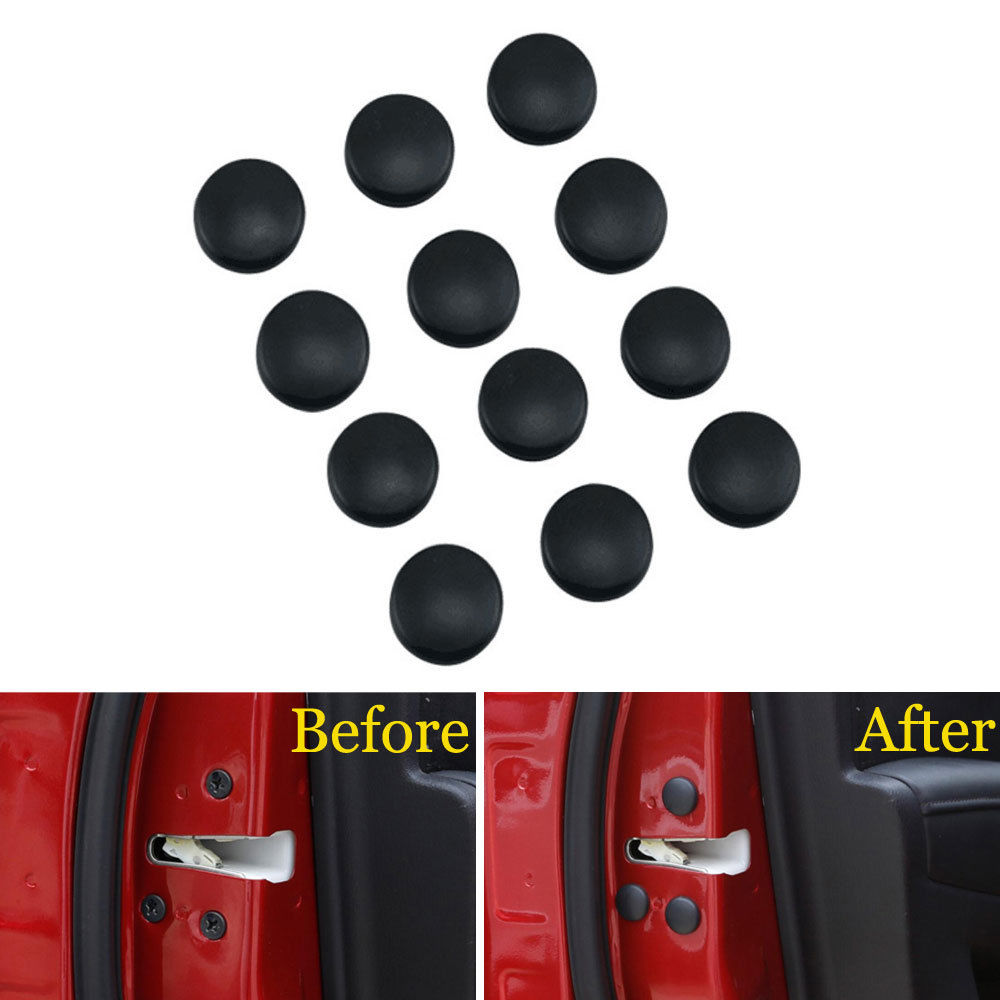 12x Door Screw Bolt Head Caps Covers Protector Decoration Guard Fit For Mazda CX-4 CX-5 Axela ATENZA Car Styling Accessories car believe car trunk mat for mazda 2 3 2017 5 6 cx 5 cx 4 cx 7 axela atenza car accessories styling cargo liner