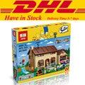 2017 MOC de DHL Lepin 16005 Simpson familia Kwik-e-mart Building Blocks Ladrillos Set Montado Juguetes Regalos clon 71006