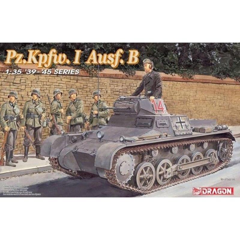 DRAGON 6186 1 35 Pz Kpfw I Ausf B Scale model Kit