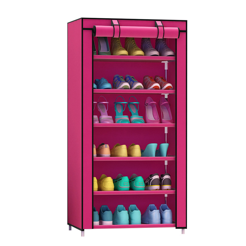 Image 4 - Actionclub Simple  Practical Small  Shoes  Rack Multifunction Dustproof Shoes Organizer Shelf In The Hallway Home Furniture-in Shoe Cabinets from Furniture