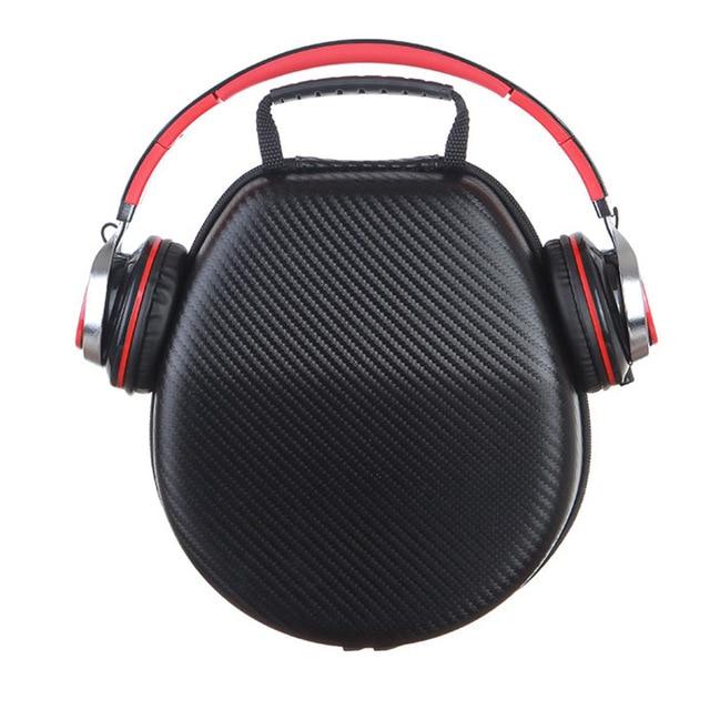 GUANHE hard drop-resistant bag for earphone headphone set protective bag case for SONY etc. universal headphone bag