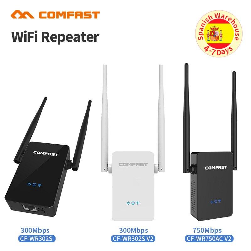 Puissant 10dbi Antenne Sans Fil WiFi Répéteur 300-750 Mbps WiFi Extender 802.11N/B/G/AC Wi fi Réseau Signal Boosters Amplificateur