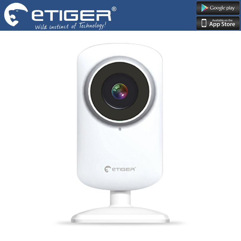 Chuangkesafe etiger ES-CAM2A 720P Day/night motion detection Security wifi IP Camera  work with egiter alarm system S4