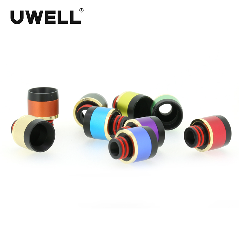 UWELL CROWN 3 Tank 510 Resin Drip Tip Wide Bore Mouthpiece for CROWN 3/ CROWN 3 MINI Tank Atomizers 1pc Retail