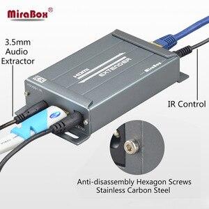 Image 5 - HSV891 IR HDMI エクステンダー以上の TCP IP IR 制御と 3.5 ミリメートルオーディオジャック、 Hdmi 送信機と受信機 1080 経由 Utp/STP Rj45