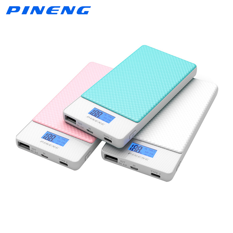 PINENG PN mobile Power Bank mAh Portable QC Wired Wireless Fast Charging