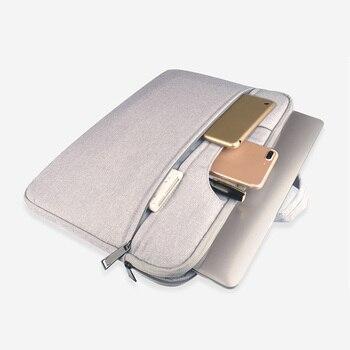 עבור Macbook Air Pro Lenovo ASUS Sony 11.6/12/13.3/14/15/15.6 אינץ נייד מחשב תיק אוקספורד עמיד למים מחשב נייד תיק
