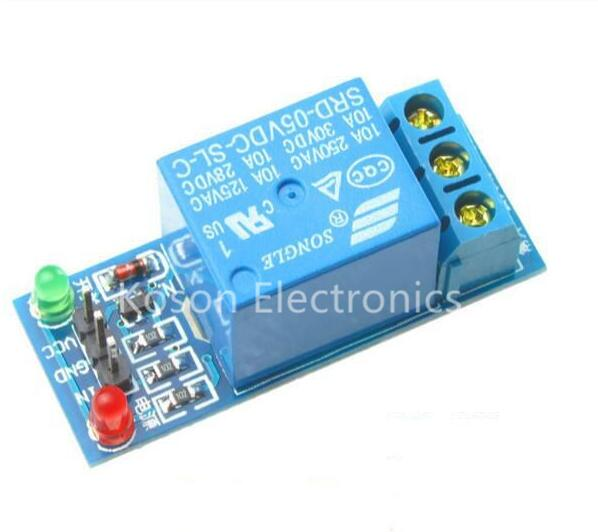 цена на 1 Channel 5V Relay Module High level for SCM Household Appliance Control For Arduino
