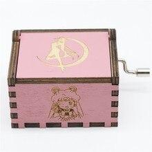 2018 nueva caja De música Sailor Moon Rosa caja De música Juego De tronos caja De música tema De música Caixa De música un regalo De cumpleaños