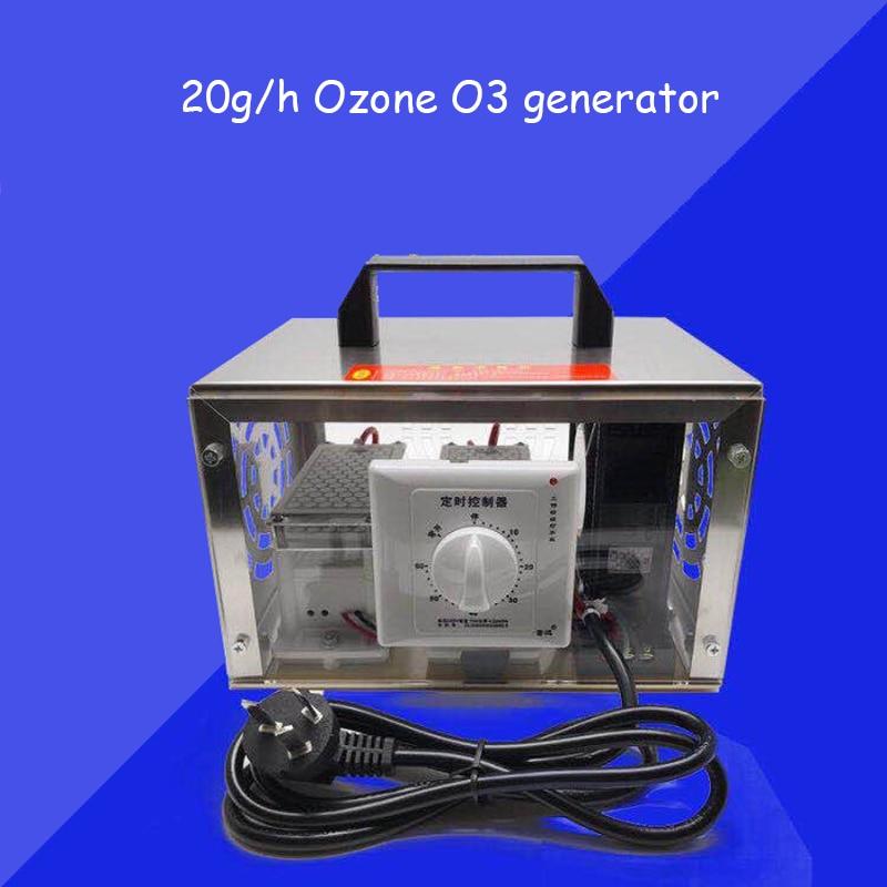 20g/h Ozone O3 generator ozonator machine air mini portable purifier filter deodorizer sanitizer20g/h Ozone O3 generator ozonator machine air mini portable purifier filter deodorizer sanitizer