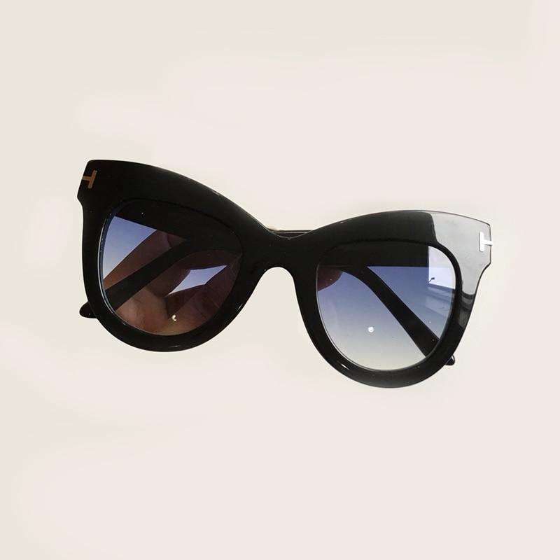 Cat Eye Sunglasses Women Brand Designer High Quality Oculos De Sol Feminino Acetate Frame UV400 Gradient