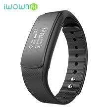 Iwownfit i6 шагомер мониторинг сна sendentary напомнить фитнес-трекер активности Смарт-браслет