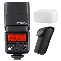 Godox Mini Speedlite TT350S Camera Flash TTL HSS GN36 for Sony Mirrorless DSLR Camera A7 A6000 A6500