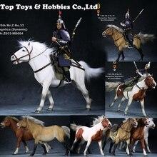 ม้าแบบไดนามิกท่าทางสัตว์ชุดพร้อมอุปกรณ์เสริม War Horse RMZ033