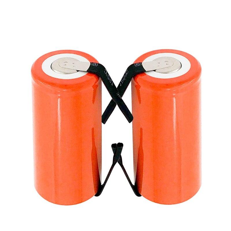 Высокое качество аккумуляторная батарея аккумулятор sub батареи оранжевый SC Ni-Cd аккумулятор 1,2 В С tab 2800 мАч для электрических инструмент