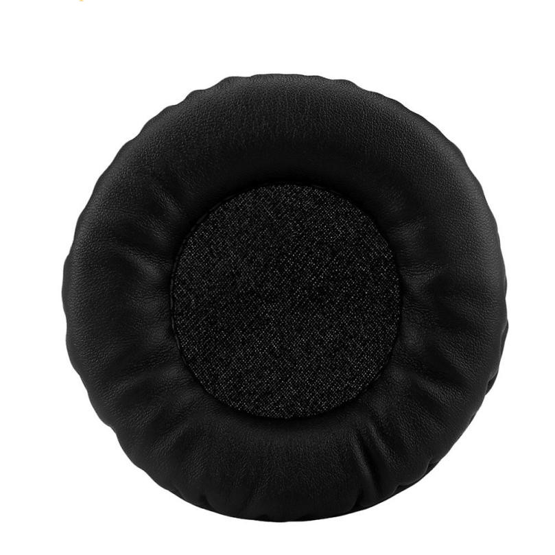 NEW HOT GIFT TOP QUALITY 1Pair Protein Leather Replacement Ear Pads 85MM Headphones headsets DEC29