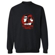 2016 Hot Sale Suicide Squad Joker and Harley Quinn Sweatshirt Men Streetwear in Mens Hoodies and Sweatshirts Hip Hop XXS-4XL
