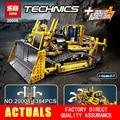 NUEVA LEPIN 20008 serie técnica 1384 unids el bulldozer Modelo Building blocks Ladrillos Compatible 8275 boy brithday regalos