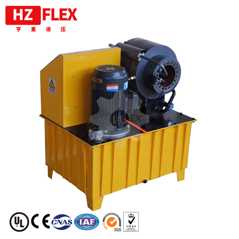 Lowest price list of yellow 2 Inch 4SP/SH mesin press hose hydraulic