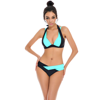 Hot Girls Sexy Bikinis Women Swimwear 2017 Summer Beach Wear Push Up Swimsuit Bikini Set Bandage
