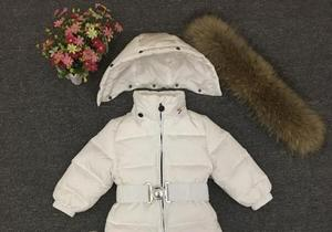 Image 4 - Russia Winter Newborn Baby Hoodie Big Fur Collar Boys Warm Outerwear Jumpsuit Baby Clothing Parka Snow Wear Girls Coats Jacket