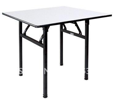 Горячая складной квадратный складной Банкетный стол ламинированный Топ из фанеры