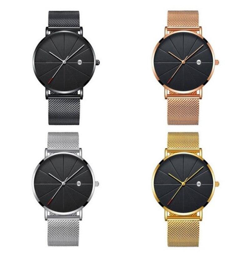HTB1urfUXEuF3KVjSZK9q6zVtXXa2 Man Watch 2019 Luxury Gold Men Watches Ultra thin Mens Watches Stainless Steel Mesh Belt Quartz Wristwatches horloge mannen