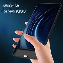 Haute qualité 6500 mAh batterie externe étui pour vivo iQOO Pack batterie de secours Charge pour vivo iQOO housse de batterie