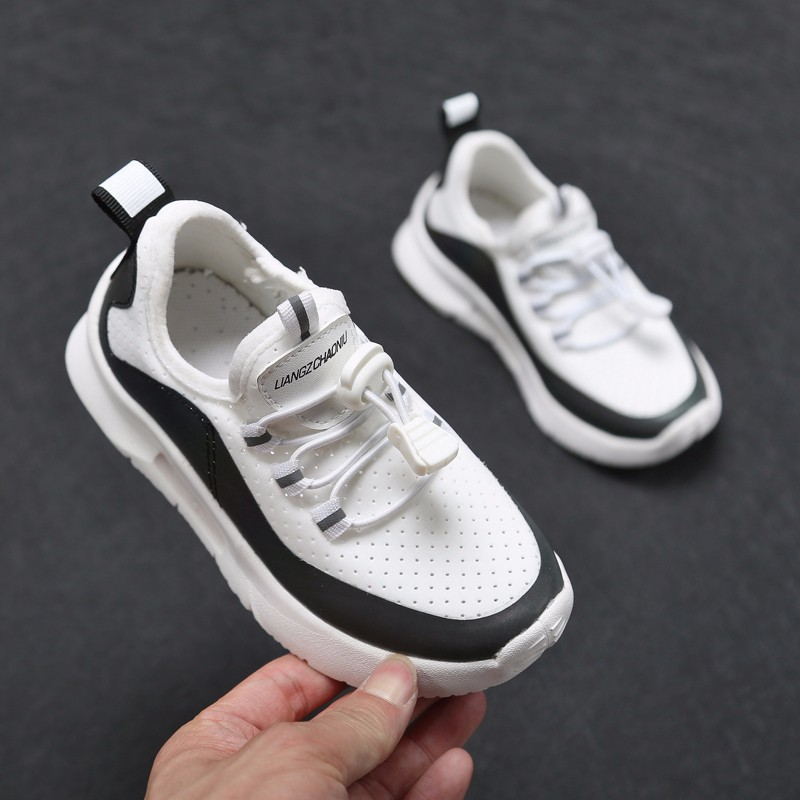 ULKNN Spring Kids Sneakers Boys Sport Shoes Girls School Casual Shoes Soft Botton Breathable Outdoors Sneakers Children Sneakers