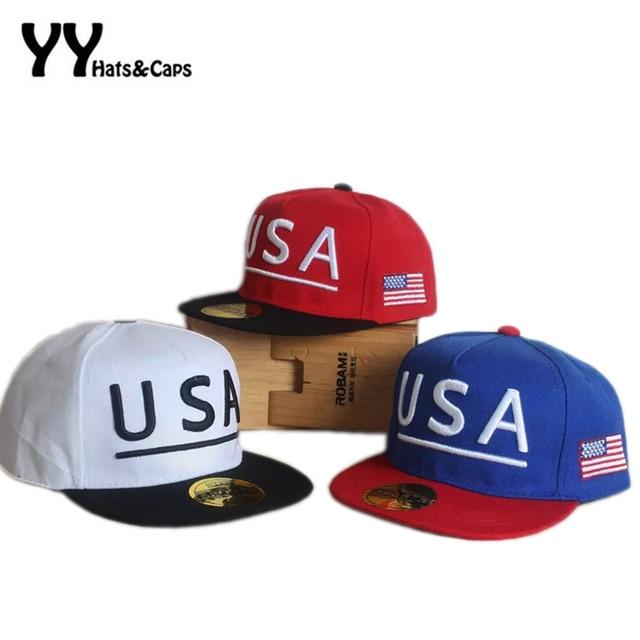 e3a133a66 Summer Kids USA Snapback Caps Boys American Cool Baseball Hats Children  Cotton Sun Visor Hat 2016