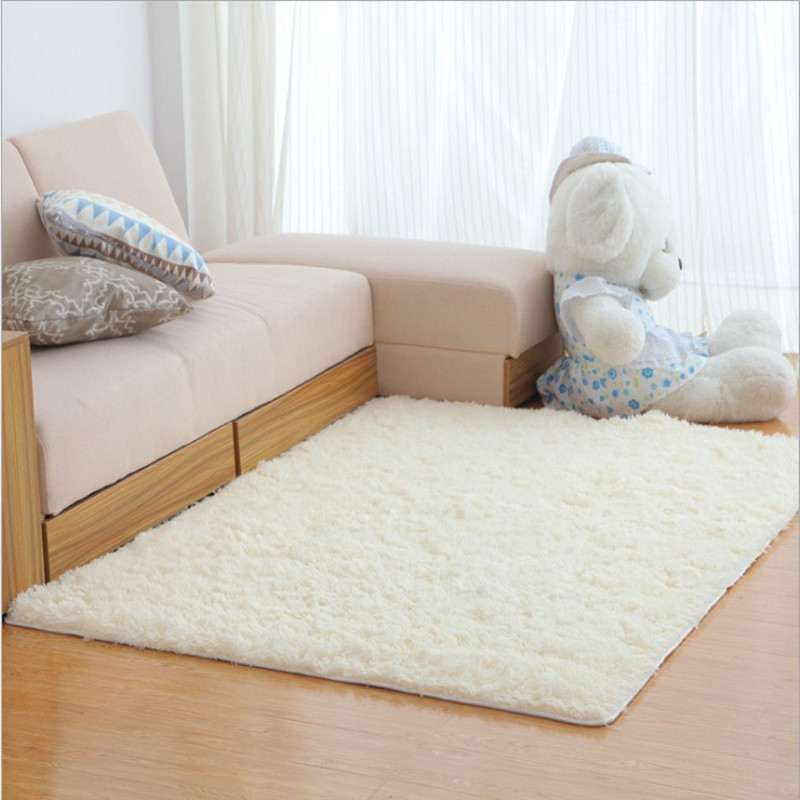 wholesale 140*200cm Water does not rub off silk carpet nap bedroom - Home Textile - Photo 1