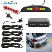 Universal Car LED Bi Bi Alarm Parking Sensor With 4 Sensors Cars