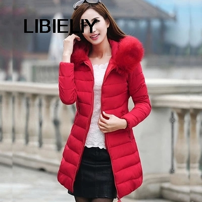 2 Color Women Jacket Winter Nice New Down Cotton Fur Hooded Slim Parka Women Jacket Coat Thicken Winter Clothes Plus Size WD128 bohochic original vintage ethnic embroidery women winter jacket thicken slim deep blue hooded cape down coat ar0067d boho chic