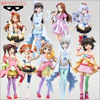 17 18cm Japanese original anime figure THE IDOLM@STER Cinderella Girls action figure collectible model toys for boys