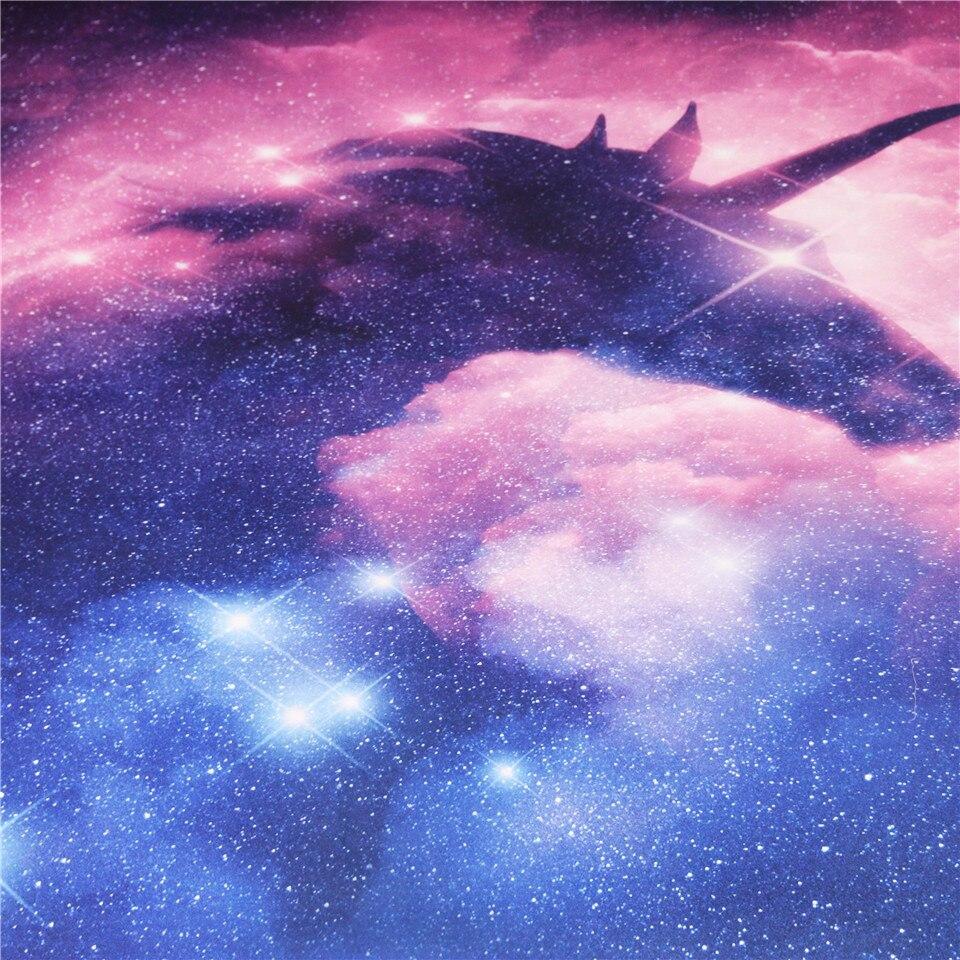 Galaxy Blue Unicorn Tapestry Unicorn Core