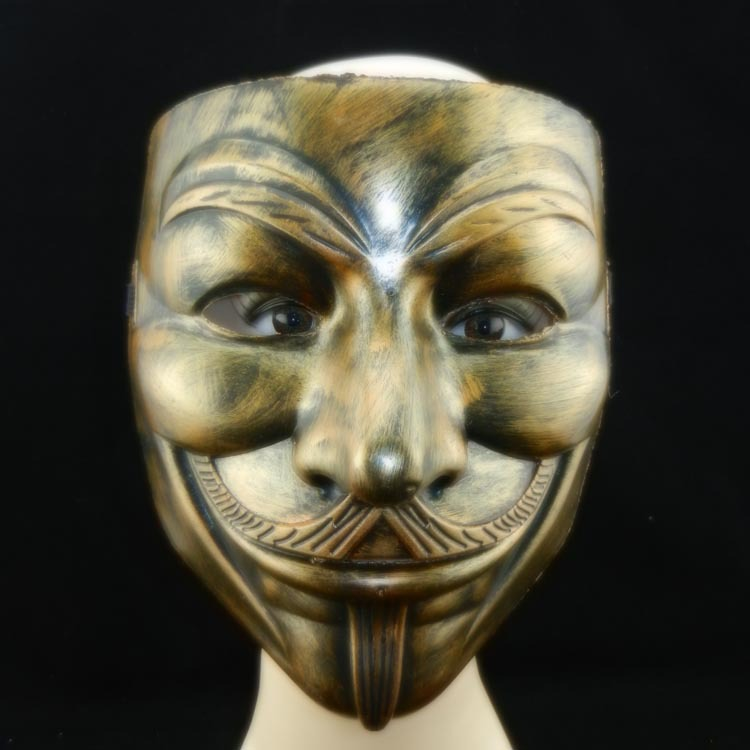 service durable économiser vente discount US $19.99 |Super Antique VZ Mask, Full Face Film, V Characters, Theme Mask,  Masquerade Mask V Word Killer Team Mr. V Mr. Halloween Horror-in Party ...