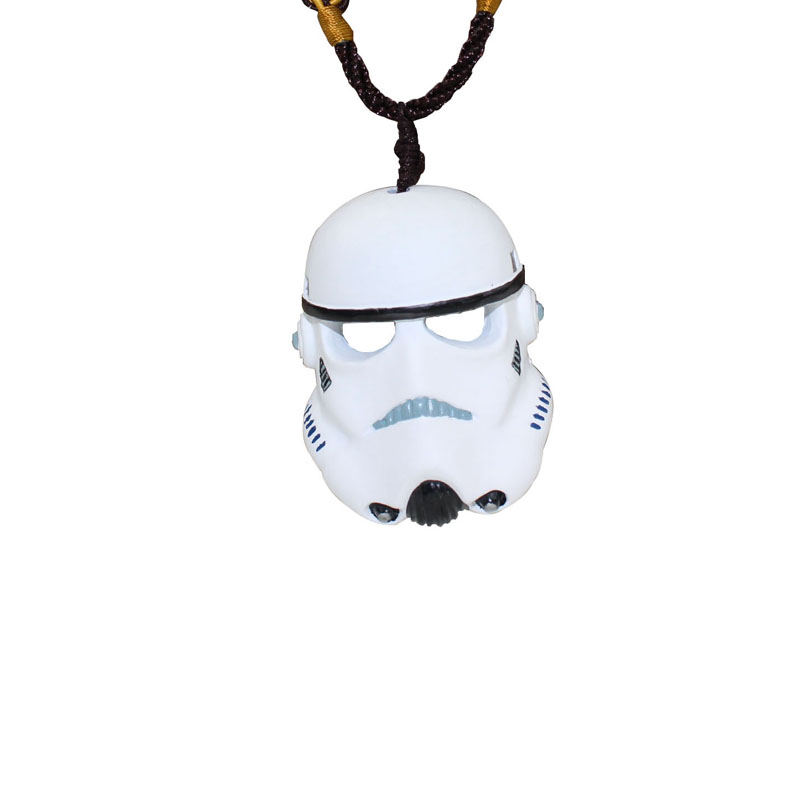 Mask Necklace Pendant Jewelry  Factory Direct Scaled-down Version Crafts Pendant Necklace