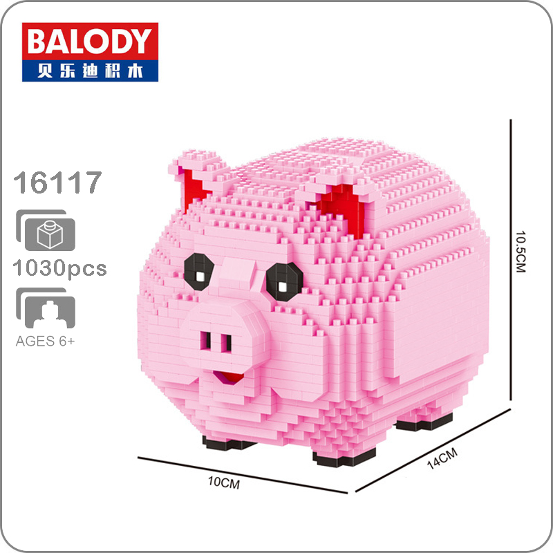 Novo-Modelo-Piggy-Bank-Money-Box-3D-Balody-16117-Porco-Cor-de-Rosa-1030-pcs-Diamante (2)