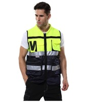 Reflective Vests 360 Degrees High Visibility Neon Safety Vest Belt Safety Vest Fit For Running Cycling