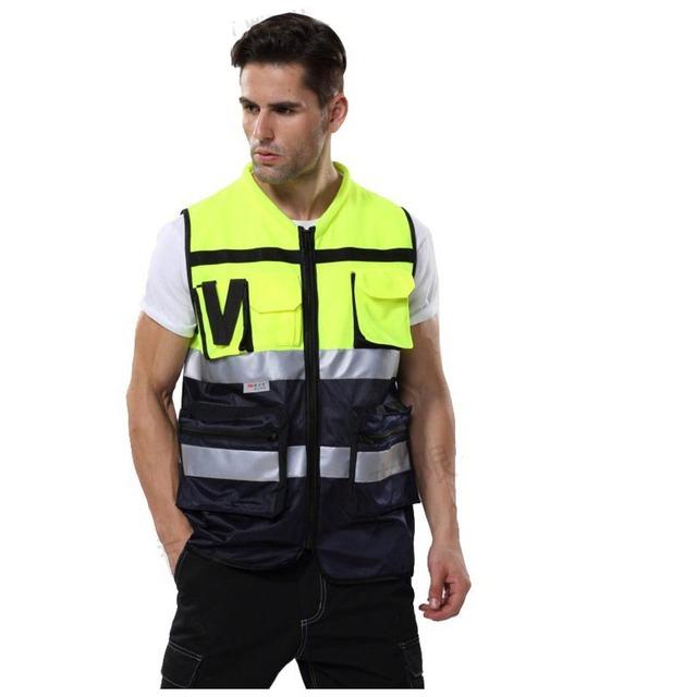 Coletes à prova de 360 Graus Cinto Neon Colete de Segurança de Alta Visibilidade reflexiva Segurança Vest Fit Para Running Ciclismo Esportes Ao Ar Livre Roupas