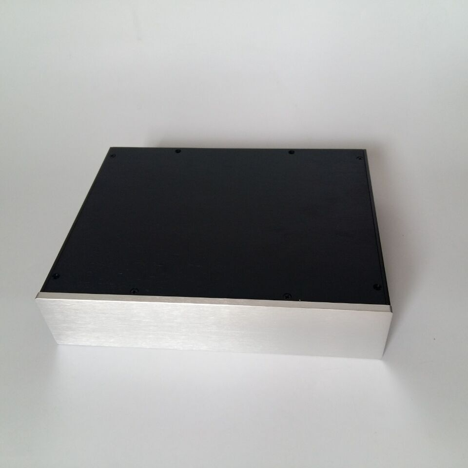 QUEENWAY 3207 full aluminum case chassis box short board 320mm 72mm 248mm 320 72 248mm