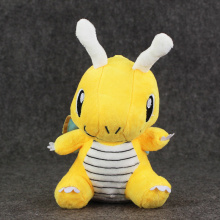 "7.5"" 19cm Dragonite Plush Toy Stuffed Dragon Dolls Gifts for Children"