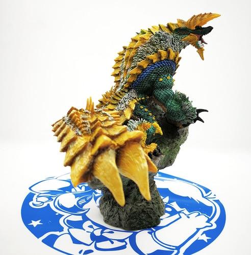 Monster Hunter World MHW XX гром волк Дракон тюрьма волк подвиды фигурка коллекция декоративные детские игрушки подарок - Цвет: Jin Ouga