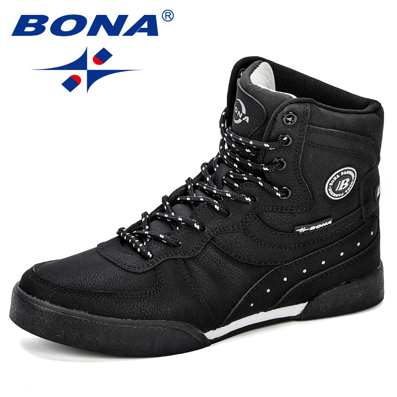c92c2ee1 BONA/новая дизайнерская женская обувь для скейтбординга, уличная спортивная  обувь, женские брендовые высокие