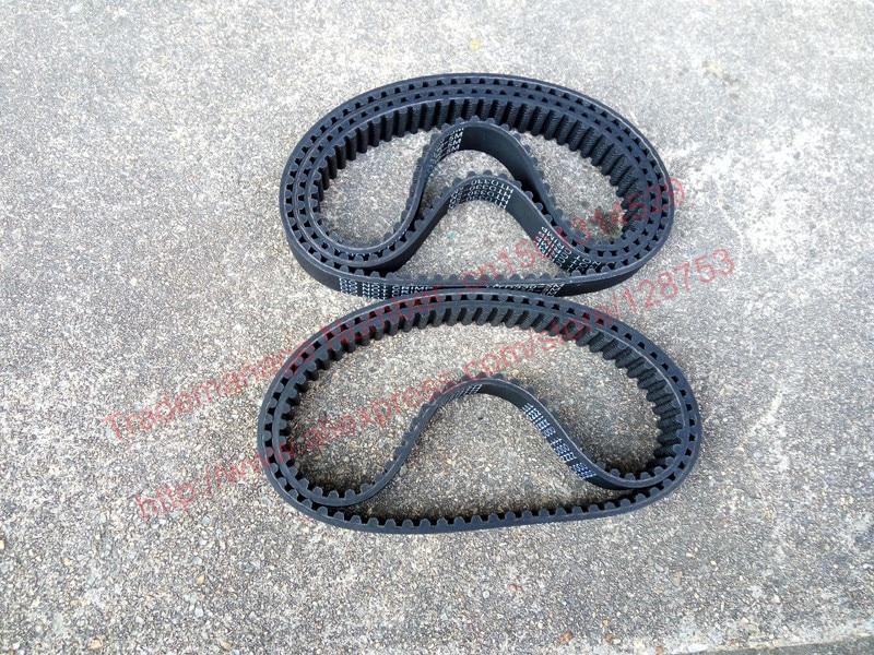Купить с кэшбэком 5 piece/pack HTD5M timing belt 450-5M Teeth 90 Length 450mm Width 15 20 mm rubber closed-loop 450 HTD 5M S5M Pulley high quality