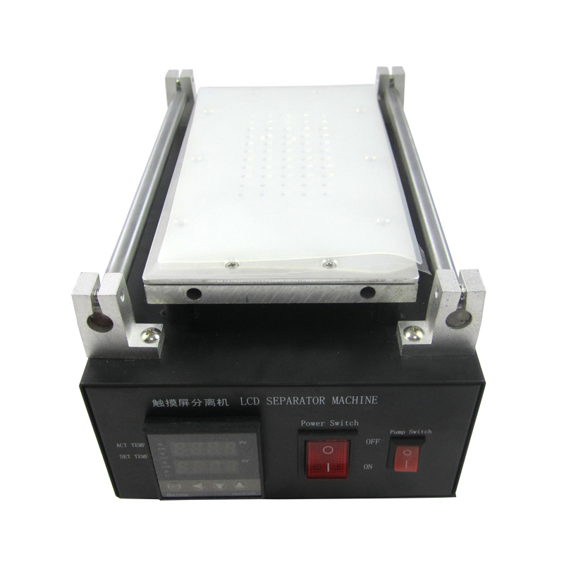7 inches LY 947V.2 build-In Air Pump Vacuum LCD Separator Machine Screen Repair Machine Kit For iPhone Samsung with Cutting Line lcd separator screen repair machine with build in vacuum pump for cell phone green