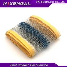 100PCS 4M7 ohm 1/4W 1% Metal film resistor 0.25W 1/4w resistance