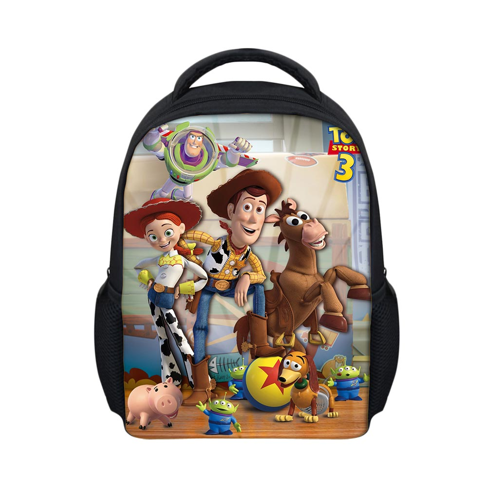 80bb1f2347b Fashion Boys Backpack Cartoon Woody Toy Story Printing School Bag for  Teenager Cute School Children Backpack Polyester Bags