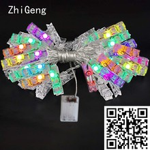 ZhiGeng 2M 3M 4M 5M Copper Wire LED String Lights Holiday Lighting Wedding Party Christmas Home Decor Lights For Hanging Photos