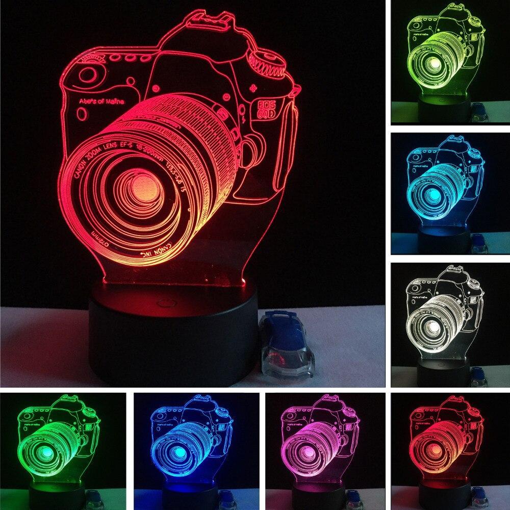 Luzes da Noite nova chegada 3d câmera de Modelo Número : Dd-003